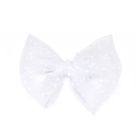 Tulle Big White Bow