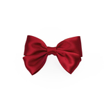 Dark Red Double Satin Bow