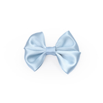 Baby Blue Double Satin Bow